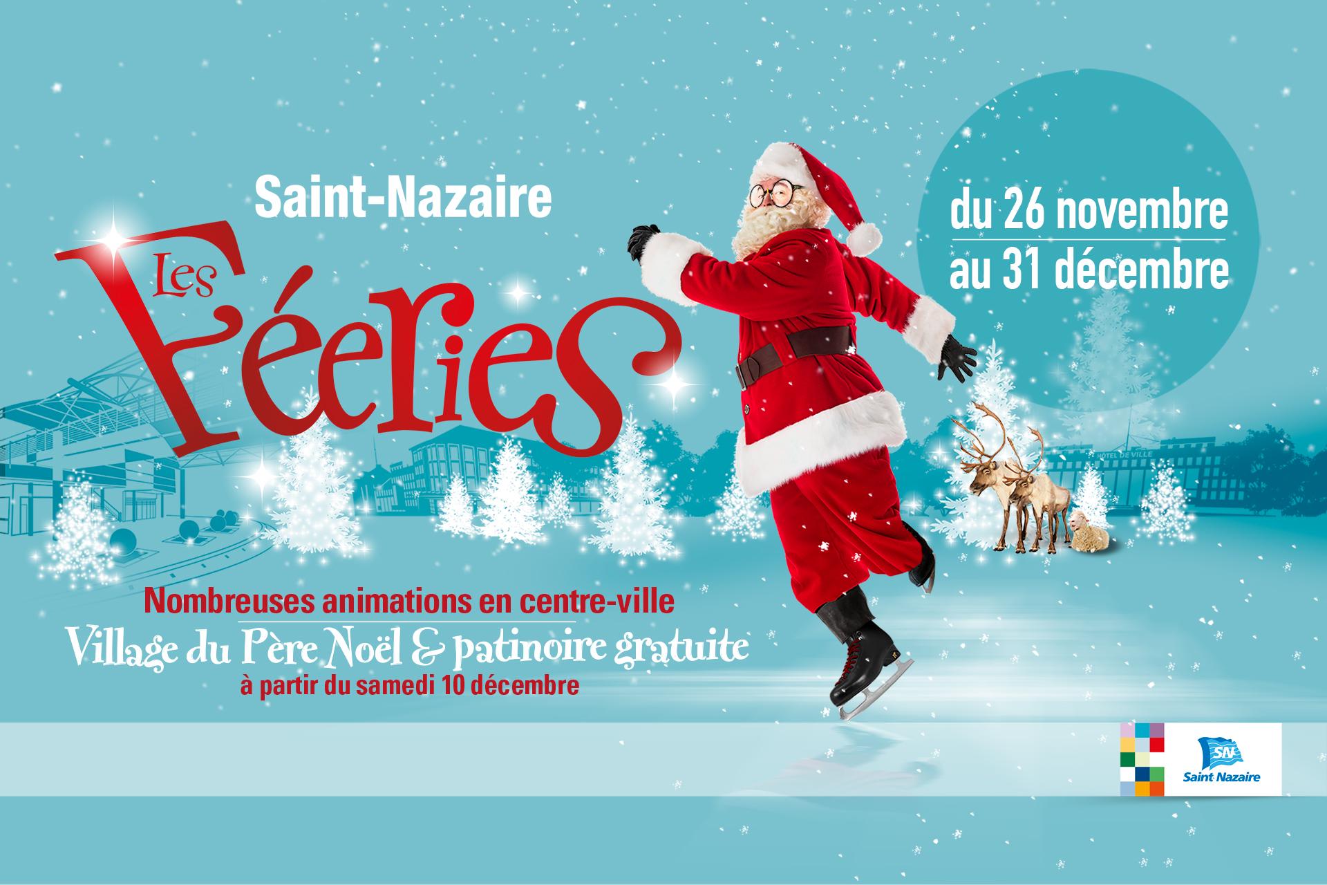 Magie De Noël Et Poésie Au Menu Des Fééries 2016 Saint Nazaire