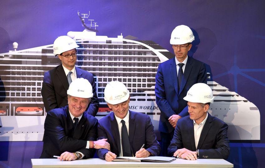 Les partenaires du projet de propulsion GNL - gaz à combustible.