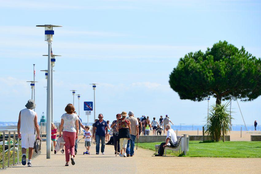 Le front de mer de Saint-Nazaire