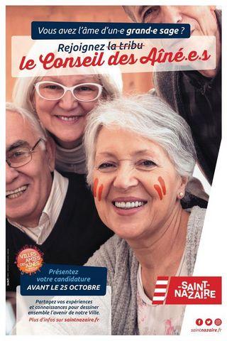 Le conseil des aînés de Saint-Nazaire