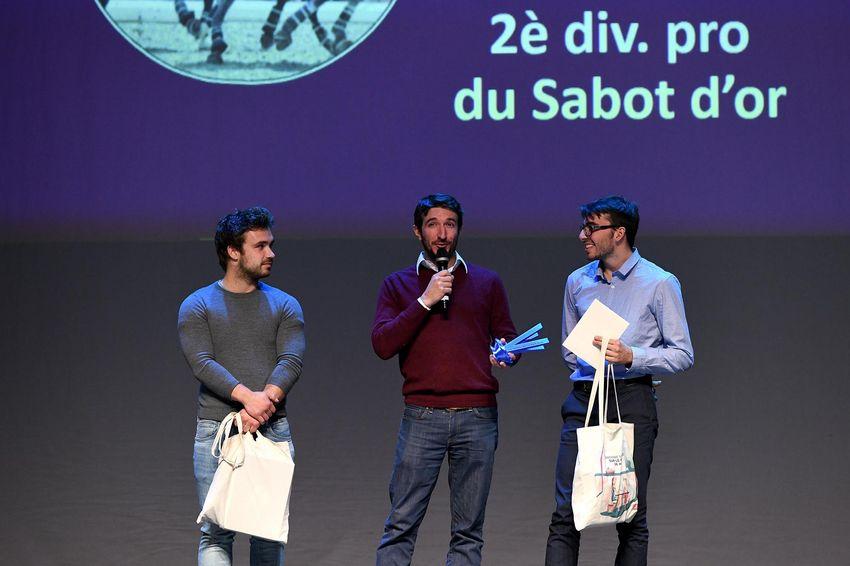 """Trophée du jury """"équipe"""" : Le sabot d'or"""
