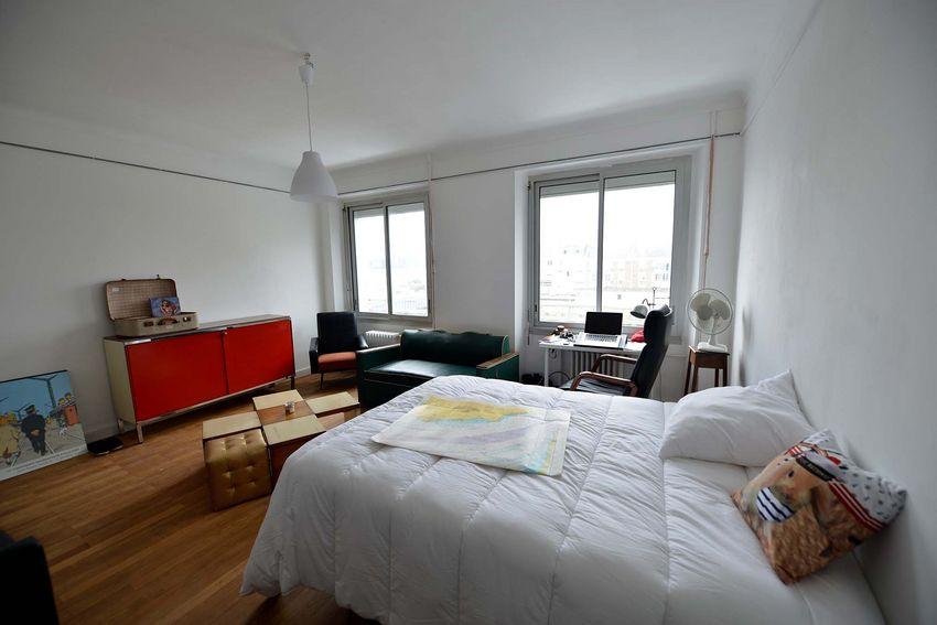 Un des hébergements proposés aux Abeilles. (©Ville de Saint-Nazaire - Christian Robert)