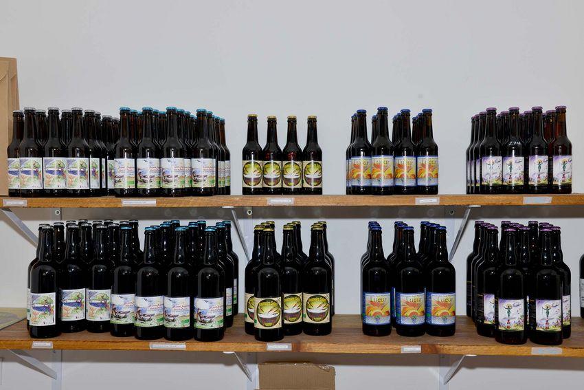 Ludovic Bouyer-Frocourt propose différentes recettes de bières. (©Ville de Saint-Nazaire - Christian Robert)