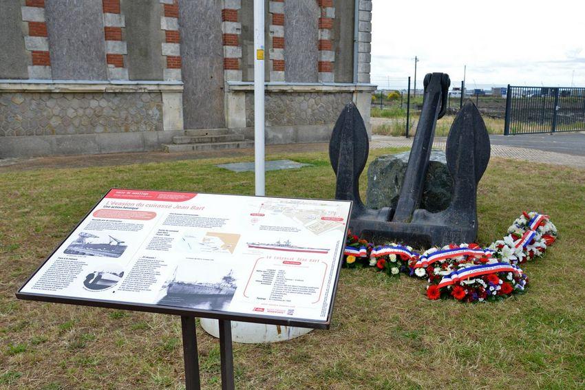 Commémoration de l'évasion du Jean Bart du 19 juin 2020. (©Ville de Saint-Nazaire - Christian Robert)
