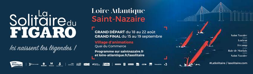 La Solitaire du Figaro 2021. Le village nazairien