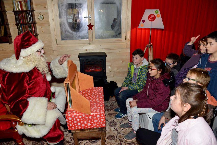 La maison du Père Noël en décembre 2016.