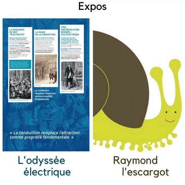 Raymond l'escargot + L'odyssée électrique