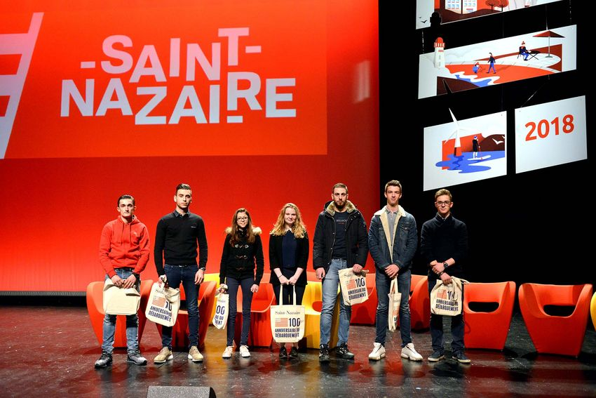 Les meilleurs apprentis 2017 de Saint-Nazaire.
