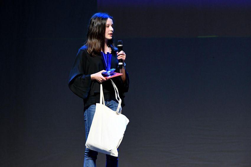 "Trophée du jury ""féminine"" : Zoé Landrin"