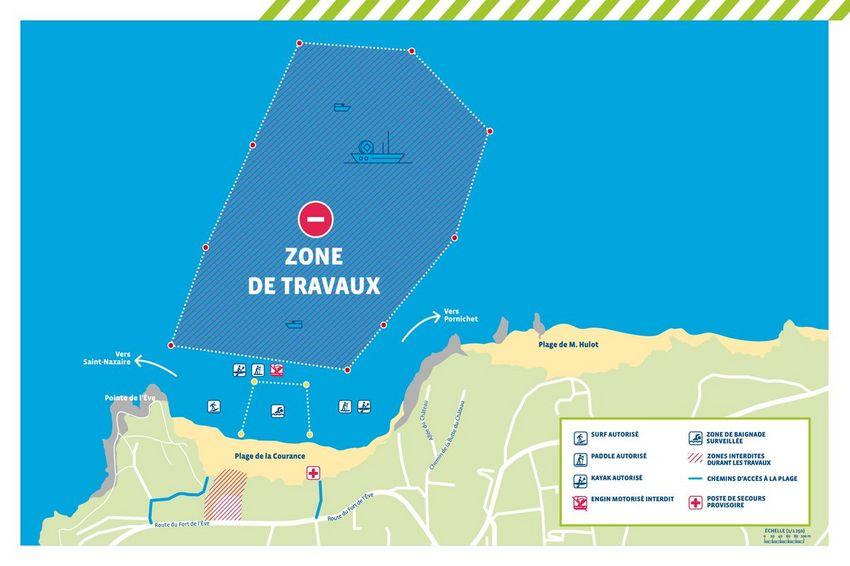 Plan RTE Courance et proche littoral