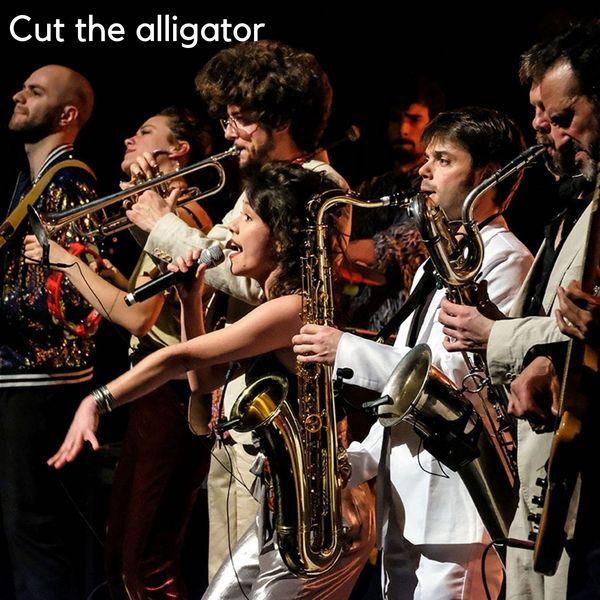 Cut the alligator