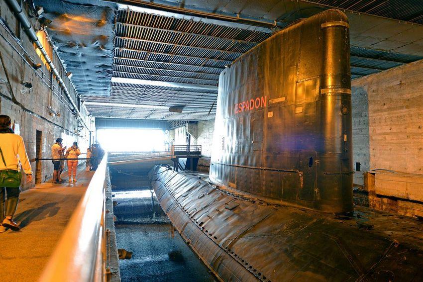 L'Espadon est le premier submersible français à avoir plongé sous la banquise. © Martin Launay - Ville de Saint-Nazaire