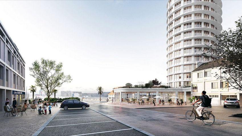 La résidence étudiante Silène pourra accueillir 70 lits ©The Architectes