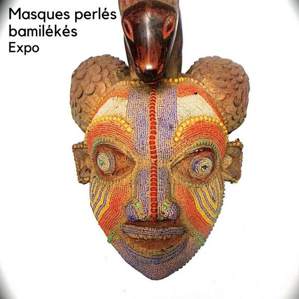 Expo: masques perlés bamilékés