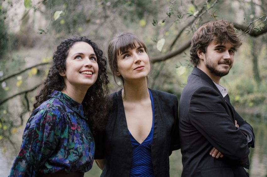 Le Trio Karénine interprétera Schubert au Théâtre de Saint-Nazaire le 27 janvier à 17h. (©Lyodoh Kaneko)