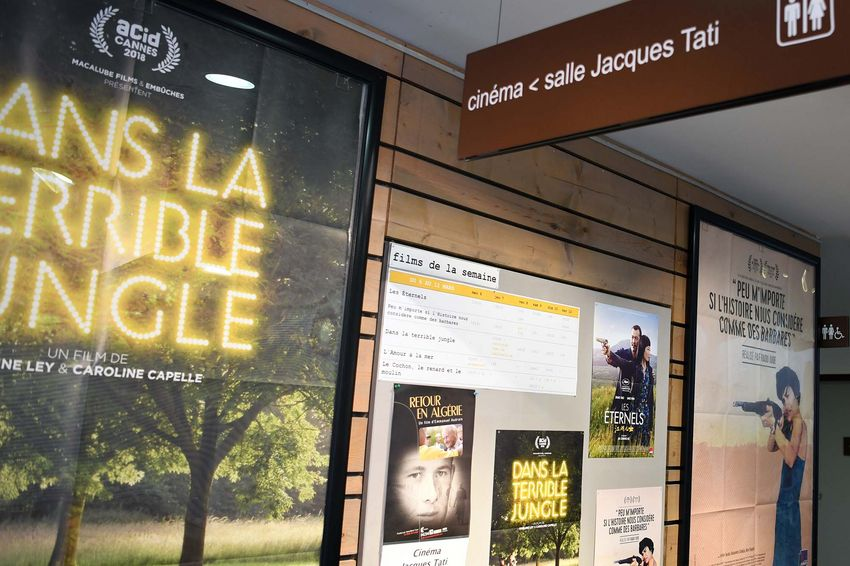 """""""Retour en Algérie"""" est programmé mardi 19 mars au cinéma Jacques Tati, date anniversaire des Accords d'Evian. (©Ville de Saint-Nazaire - Christian Robert)"""