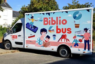 Le bibliobus nouvelle version.