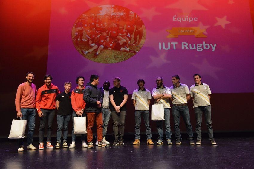 IUT Rugby. Champion de France des IUT.