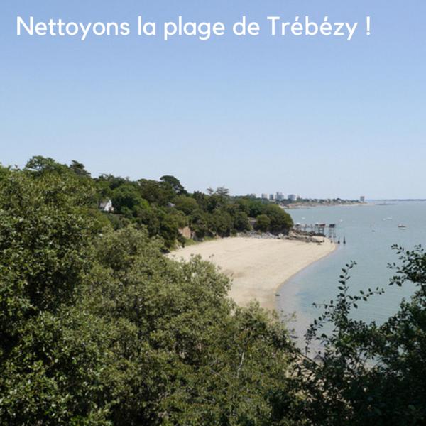 Nettoyons la plage de Trébézy!