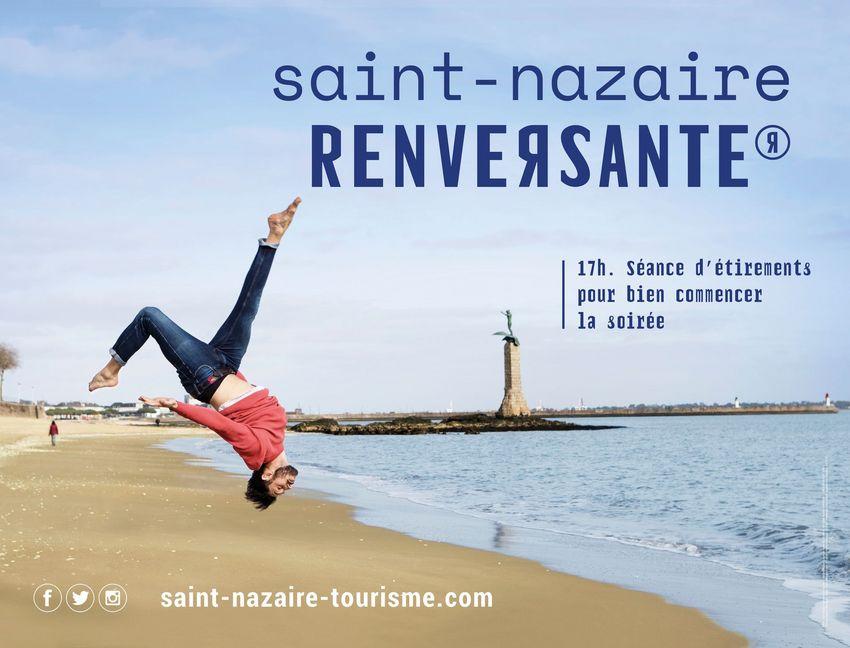 Saint-Nazaire Renversante, campagne de promotion de SNAT