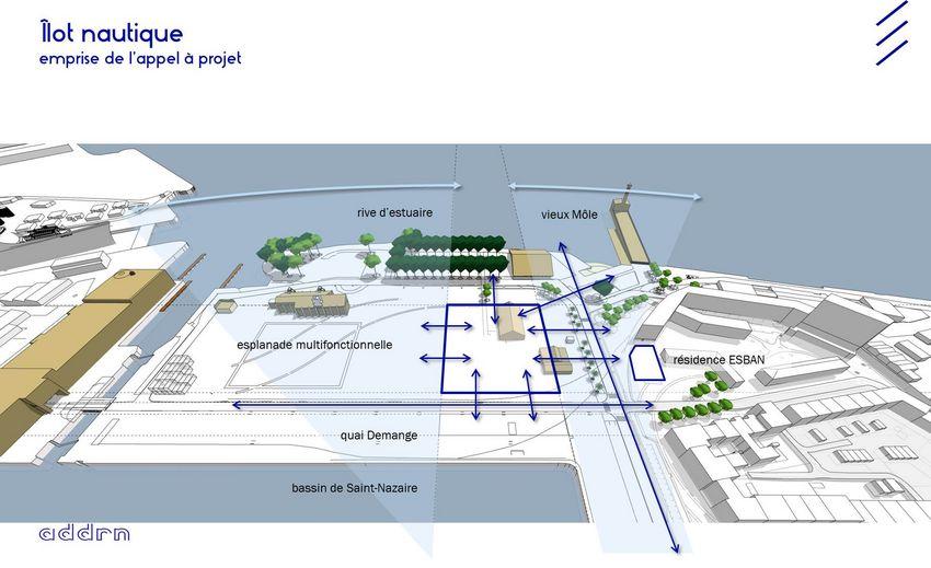 Plan îlot nautique ©ADDRN