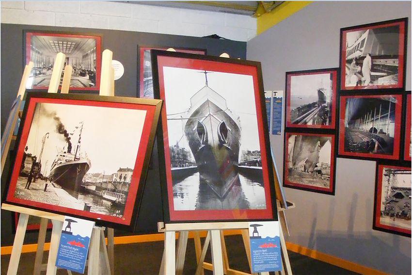 Un exemple de projet : l'exposition « Empreintes de géants, au cœur de la construction navale des paquebots transatlantiques »