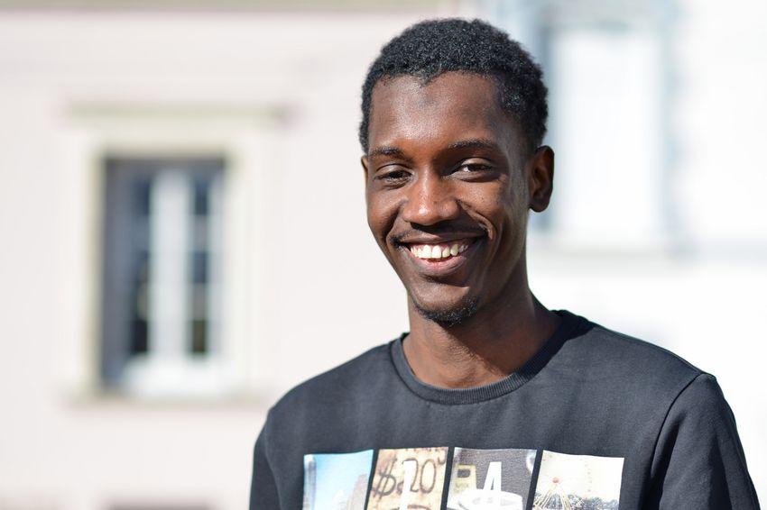 Alassane Dia. 20 ans / Étudiant