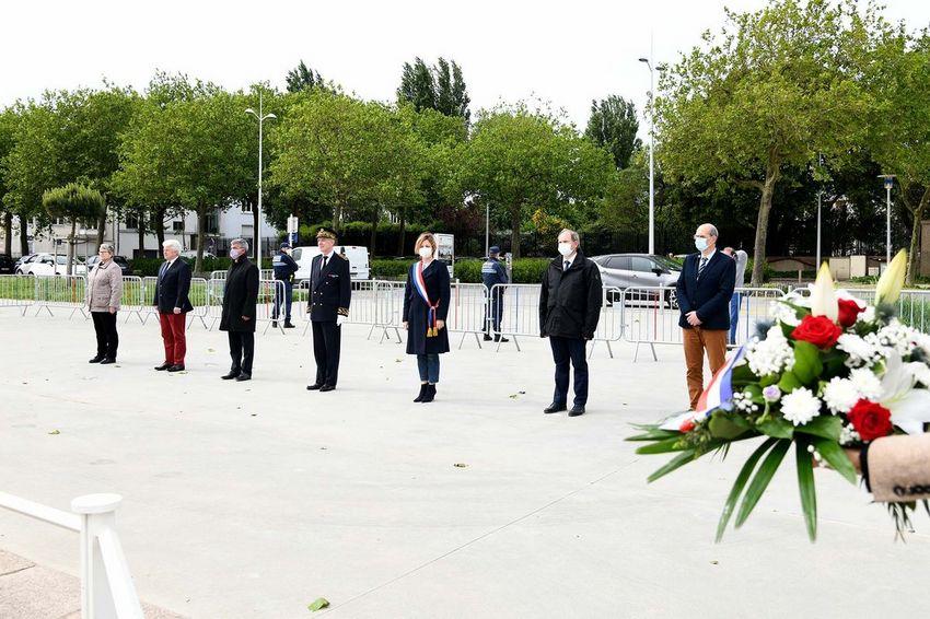 Commémoration des 75 ans de la libération de la Poche de Saint-Nazaire. © Ville de Saint-Nazaire - Martin Launay.