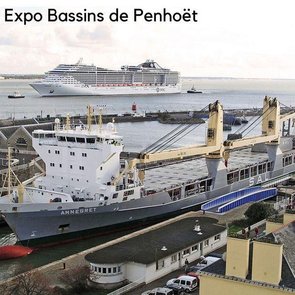 Bassins de Penhoët, industries et paquebots