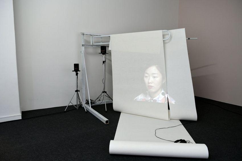 Des vidéos viennent compléter l'exposition.