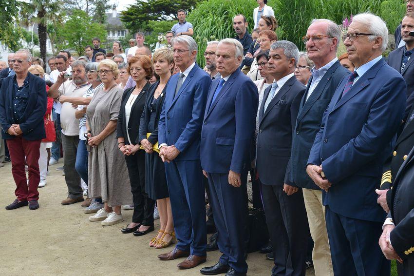 200 personnes ont assisté à la cérémonie d'hommage.