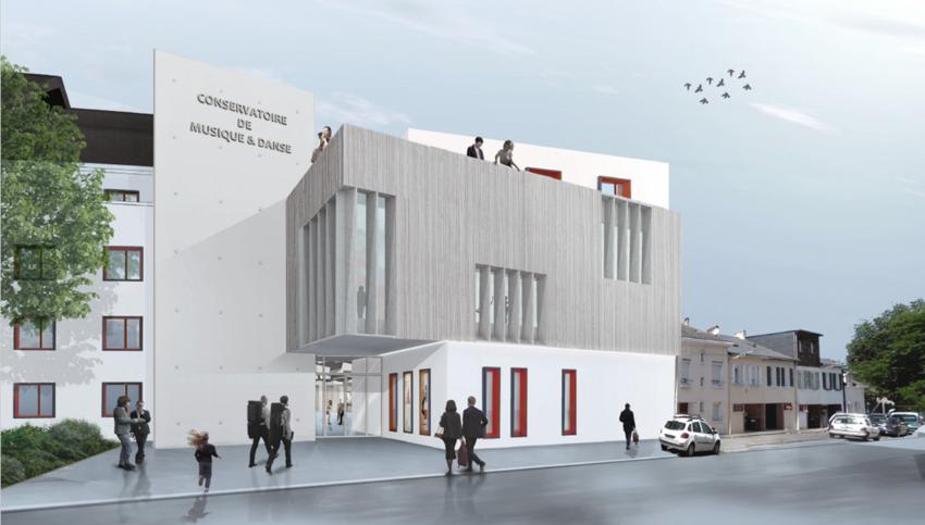Perspective rue Pierre de Bayard. Crédit : Archidev Architectes