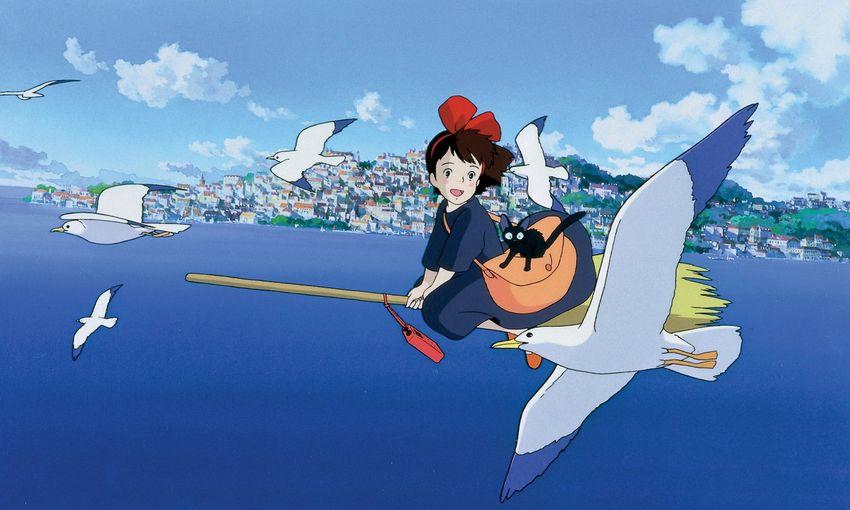 Kiki la petite sorcière, film fantastique d'animation de Hayao Miyazaki.