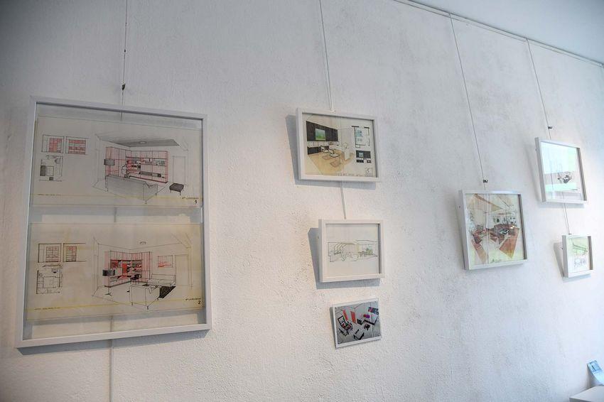 Exposition consacrée à l'histoire du 36 avenue Albert de Mun (©Ville de Saint-Nazaire - Christian Robert)