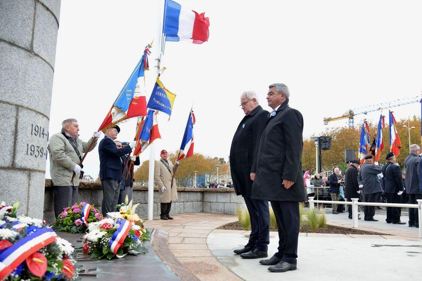 Centenaire du 11 novembre à Saint-Nazaire.