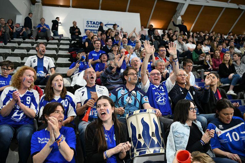 Les supporters nazairiens ont accompagné l'équipe jusqu'au bout.