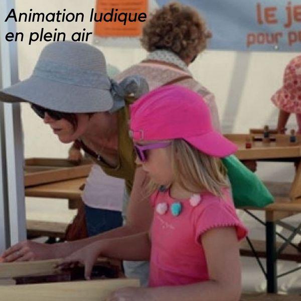Animation ludique en plein air