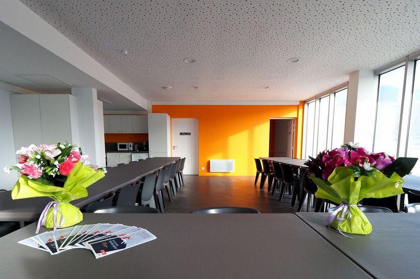 Utilisée par le Collectif l'Effet Mer, cette nouvelle salle est également ouverte aux associations ©Martin Launay - Ville de Saint-Nazaire