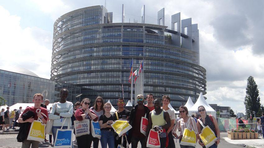 t La Source European Youth Event au Parlement européen à Strasbourg