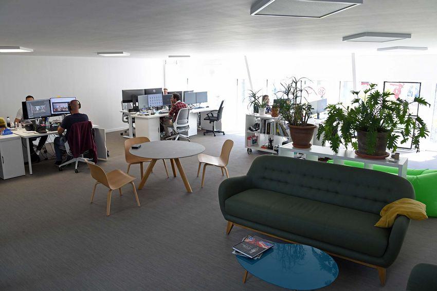 L'entreprise Spectrum Immersive Architecture et des espaces à louer (©Ville de Saint-Nazaire - Christian Robert)