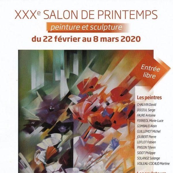 Salon de printemps – peinture et sculpture