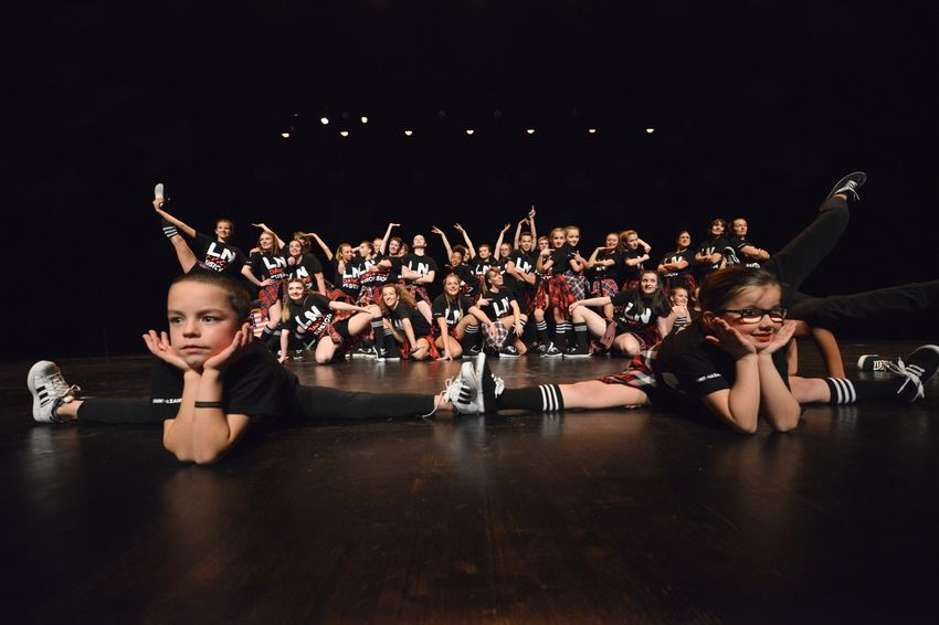 Les jeunes danseurs du LN Danse Fusion de Saint-Nazaire