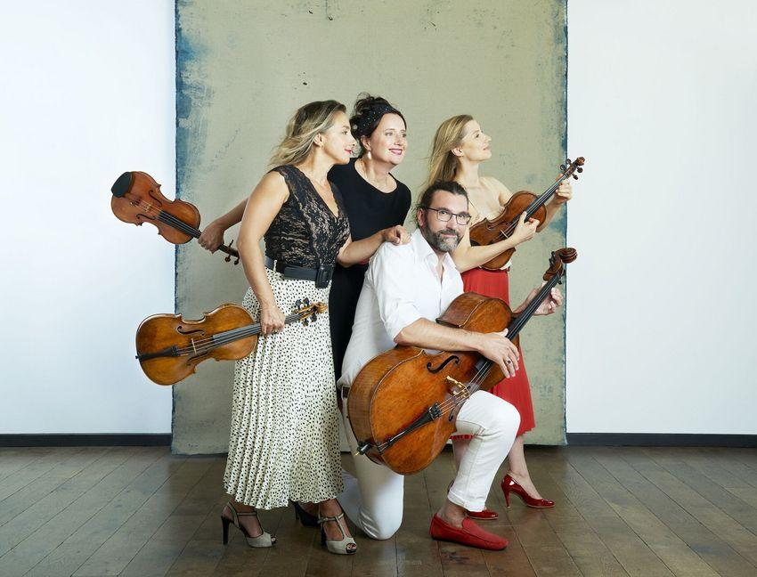 Quatuor Psophos,samedi 30, église Notre-Dame de l'Espérance.