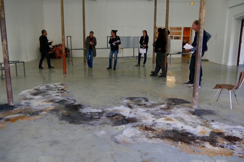 """""""Spolia"""" s'inscrit dans le cycle d'expositions """"Généalogies fictives"""" au Grand Café (©Ville de Saint-Nazaire)"""