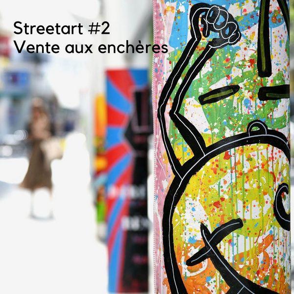 Street art #2: vente aux enchères