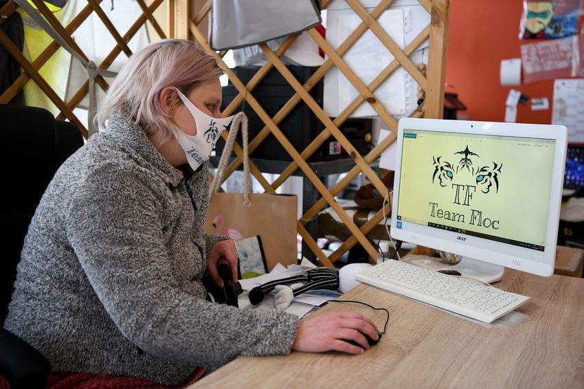 """Laëtitia Diot de Team Floc a trouvé une aide précieuse auprès de """"Commerçant-numérique"""". (©Ville de Saint-Nazaire - Christian Robert)"""
