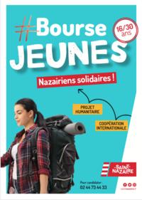 La bourse Jeunes Nazairiens Solidaires (16 à 30 ans)