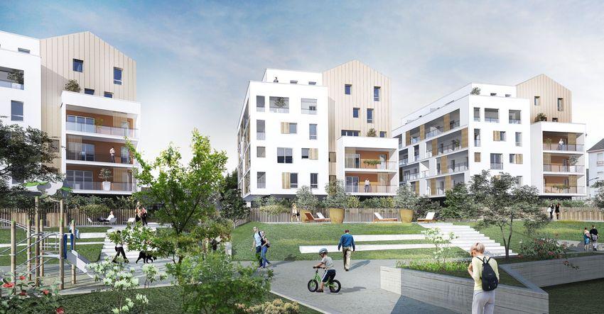 70 % de la surface de ce grand projet urbain - seront dédiés aux espaces paysagers