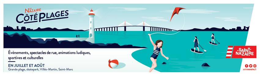 Saint-Nazaire côté plages 2021