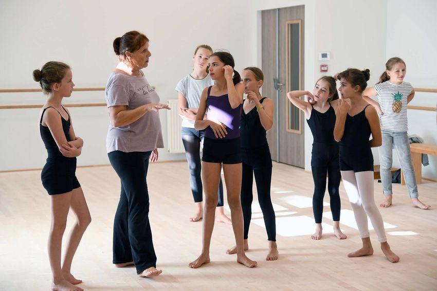 Chaque année, 300 élèves fréquentent les cours de danse du Conservatoire. © Christian Robert - Ville de Saint-Nazaire